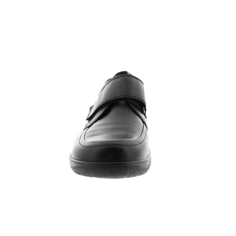 Waldläufer Ken, Palmer (Glattleder), schwarz, Klettverschluss , Weite K 633301-174-001