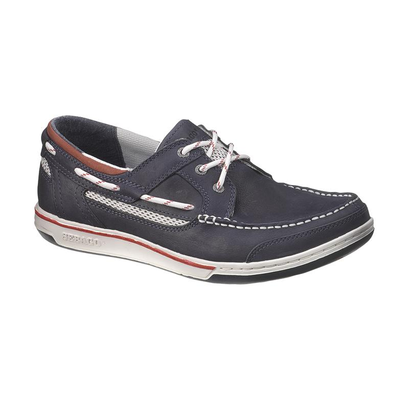 Sebago Triton Three-Eye, Navy Nubuck 810-002