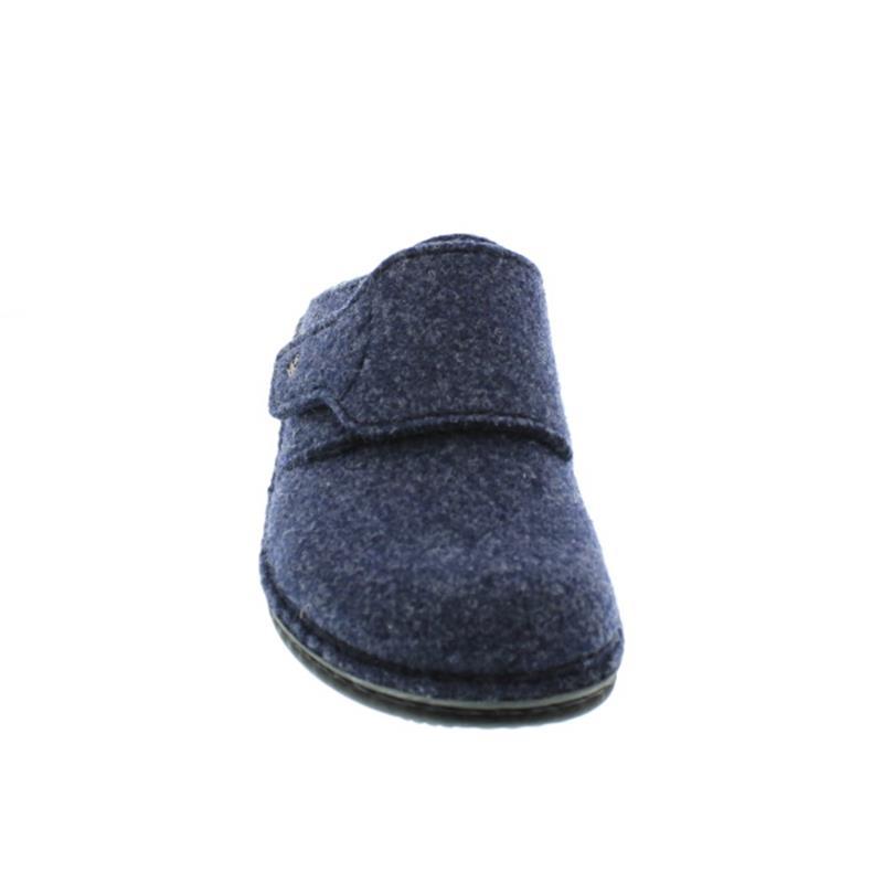 Finn Comfort Andermatt, Wollfilz, Darkblue, Klettverschluss 6550-416048