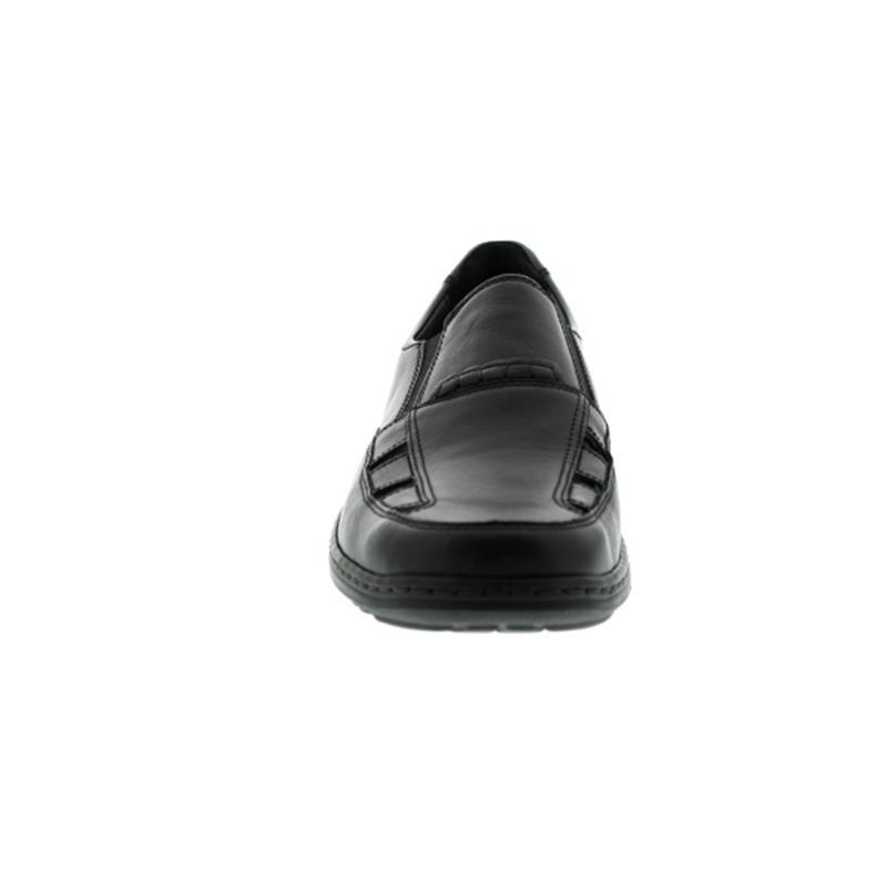 Waldläufer Herwig, Palmer (Glattleder), schwarz, Weite H 478501-174-001