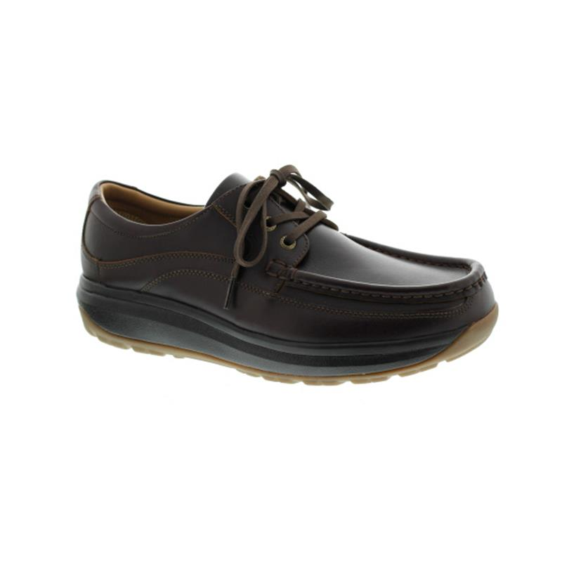 Joya Porto Dark Brown, Herrenhalbschuh,Soft-Style-Sohle 033cas