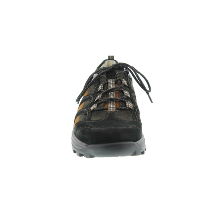 Waldläufer Holly, Schnürschuh, Denver schwarz/schiefer, Weite H, 471014-490-769