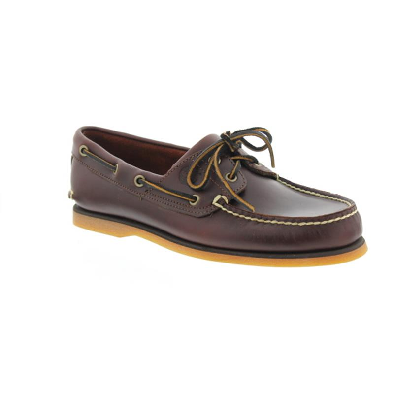 Timberland Classic 2 I Boat Shoe, MD Brown, Full Grain 25077