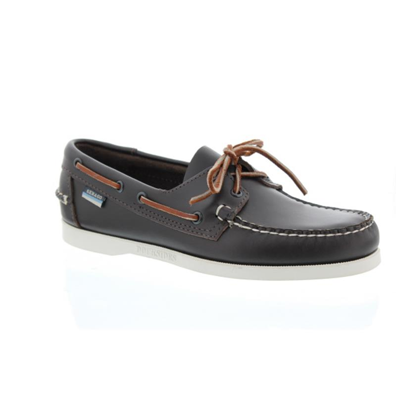 Sebago Docksides, Full-Grain Leather, wine (dunkelbraun), Men 7000H00-N07 vorher B72753
