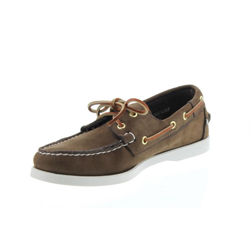 559d91a07c4 Sebago Docksides, Nubuk, dark brown, Men 7000GA0-901 vorher 727-58