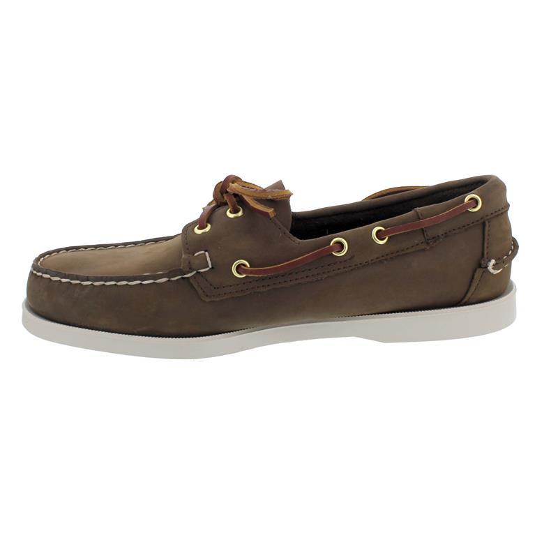 Sebago Docksides, Nubuk, dark brown, Men 7000GA0-901