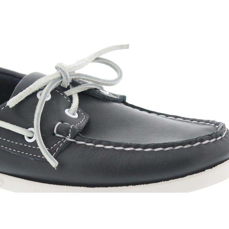 Sebago Docksides, Full-Grain Leather, blue navy 7000H00-908 vorher 726-39