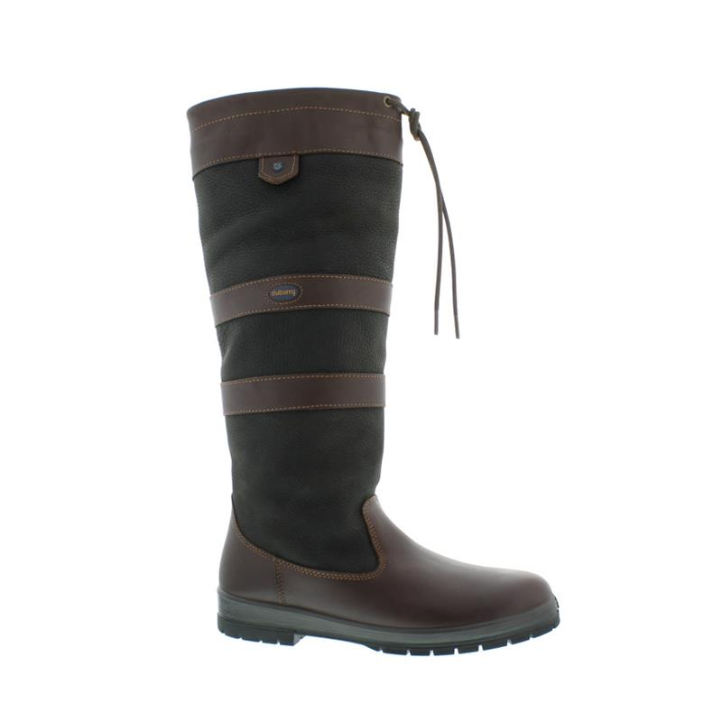 new product d549e d6cd9 Dubarry Galway, Dry Fast - Dry Soft Leder, Extra Fit (extraweit), Gore-Tex,  Black/Brown 3931-12