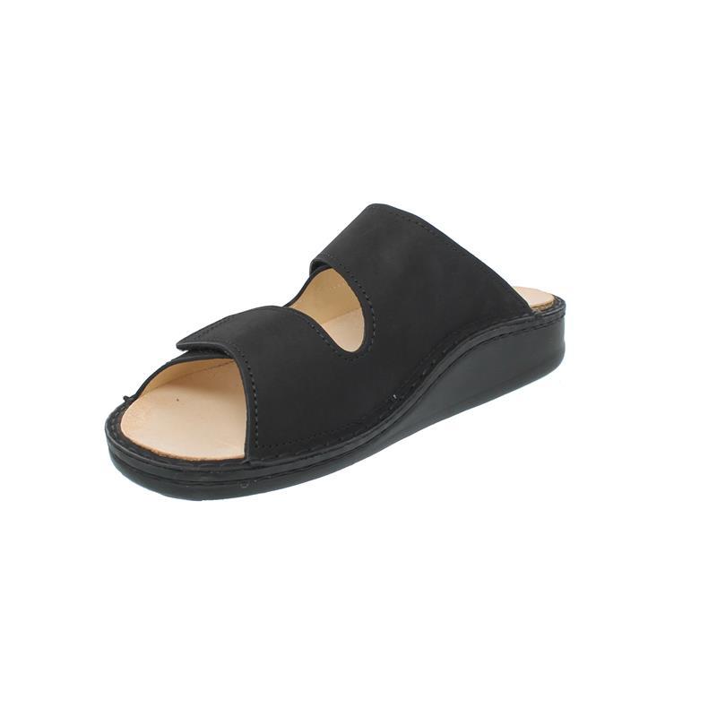 Finn Comfort Riad, Pantolette, Buggy (Nubukleder), schwarz 1505-046099