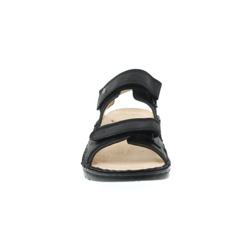 Finn Comfort Yuma (Finnamic), Buggy (Nubukleder), schwarz / olive 1561-900542