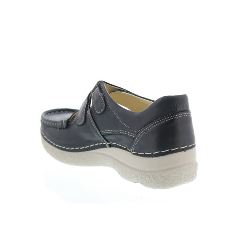 Wolky Roll-Fever, Black summer, Halbschuh (Klett) 6247-307