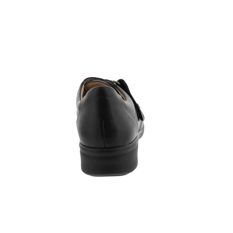 Finn Comfort Alkmaar, Stretcheinsatz, Klettverschluss, schwarz 5051-900931