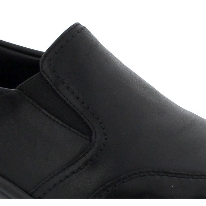 Semler Birgit, Slipper, Soft-Nappa (Glattleder), schwarz, Vario-Fussbett, Weite H B6095-012-001