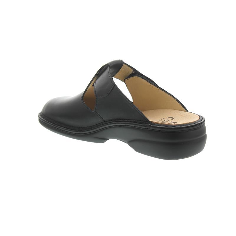Finn Comfort Belem, Clog, Nappaseda (Glattleder), schwarz 2555-014099