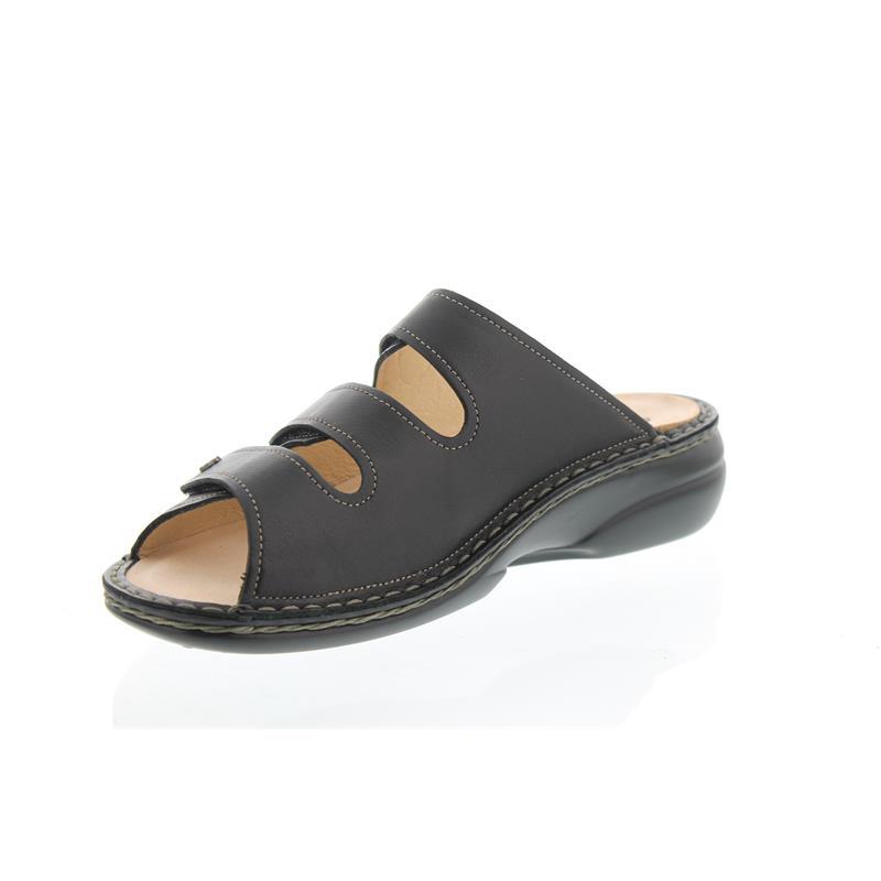Finn Comfort Menorca-S, Weichbettung, Nappaseda (Glattleder), schwarz 82564-014099