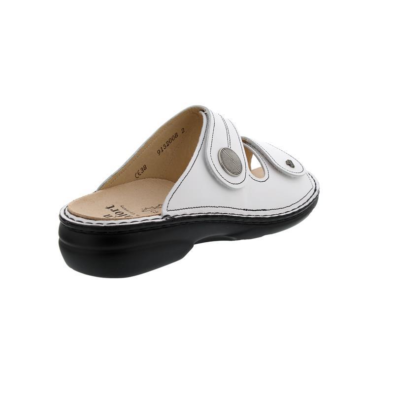Finn Comfort Sansibar, Pantolette, Nappa (Glattleder), weiss 2550-001000