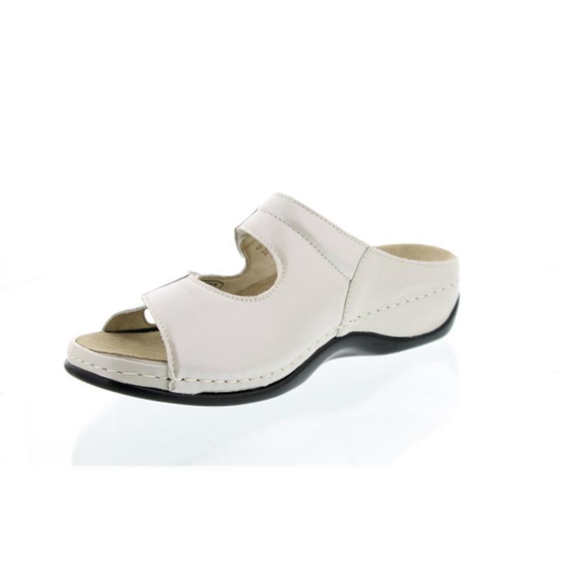Berkemann Janna, beige, Pantolette, Perlato/Stretch beige, 1027-752
