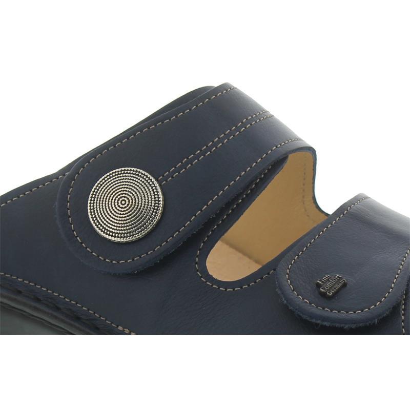 Finn Comfort Sansibar, Pantolette, Missouri (Glattleder), Blau 2550-120040