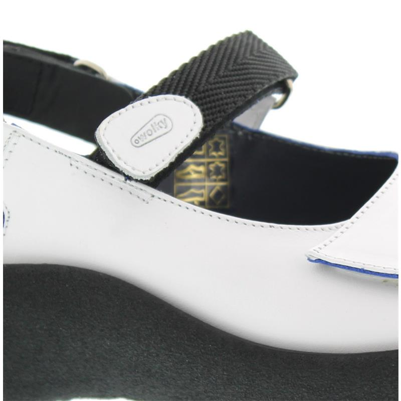 Wolky Jewel, White, Martinica leather, Sandale 0320430-100