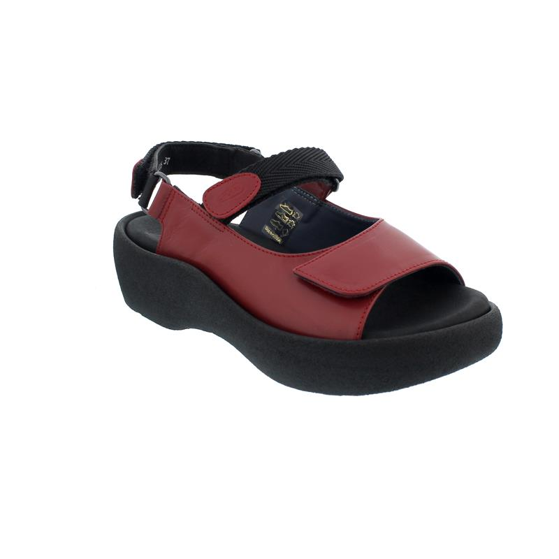 Wolky Jewel Sandale, Red, Martinica leather, 0320430-500