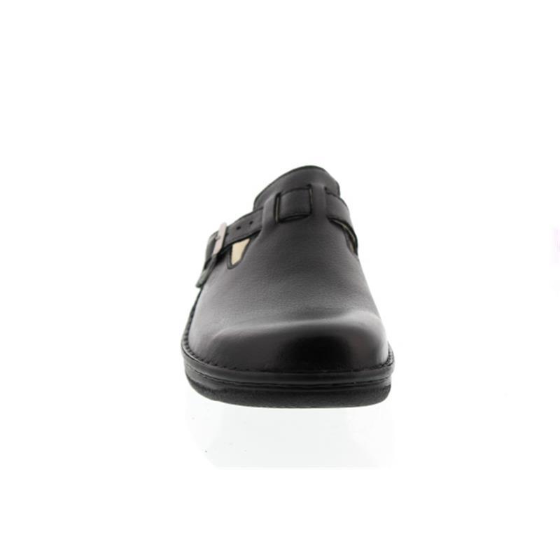 Berkemann Max, Glattleder, Wechselfußbett, schwarz, Weite G 5708-900