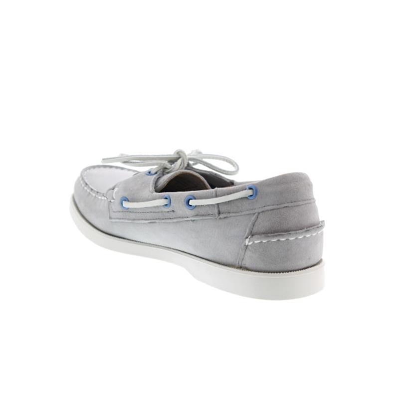 Sebago Docksides, Grey Suede 720-005