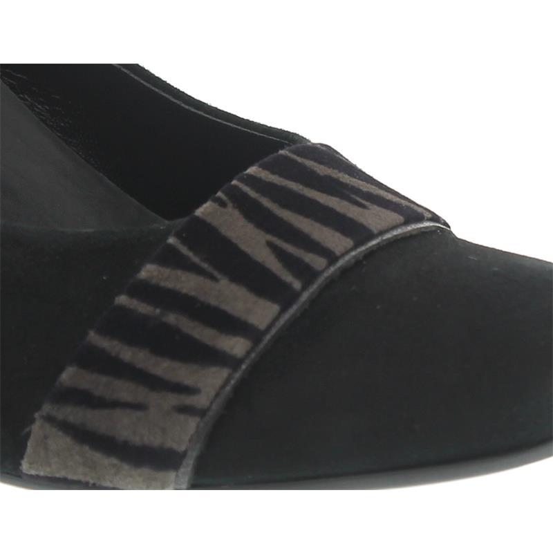 Gabor Comfort Pumps, Samt Zebra Efeso 32.162 47