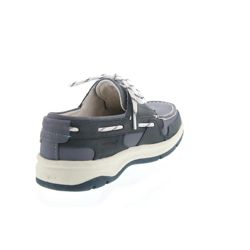 Sebago Brice Three Eye, Blue/Navy Nubuck B850142