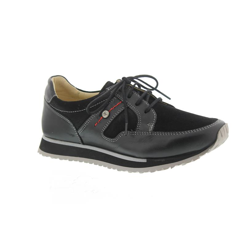Wolky combi 05800 leather WalkSneakerStretch E Black 20009 PZkXiu