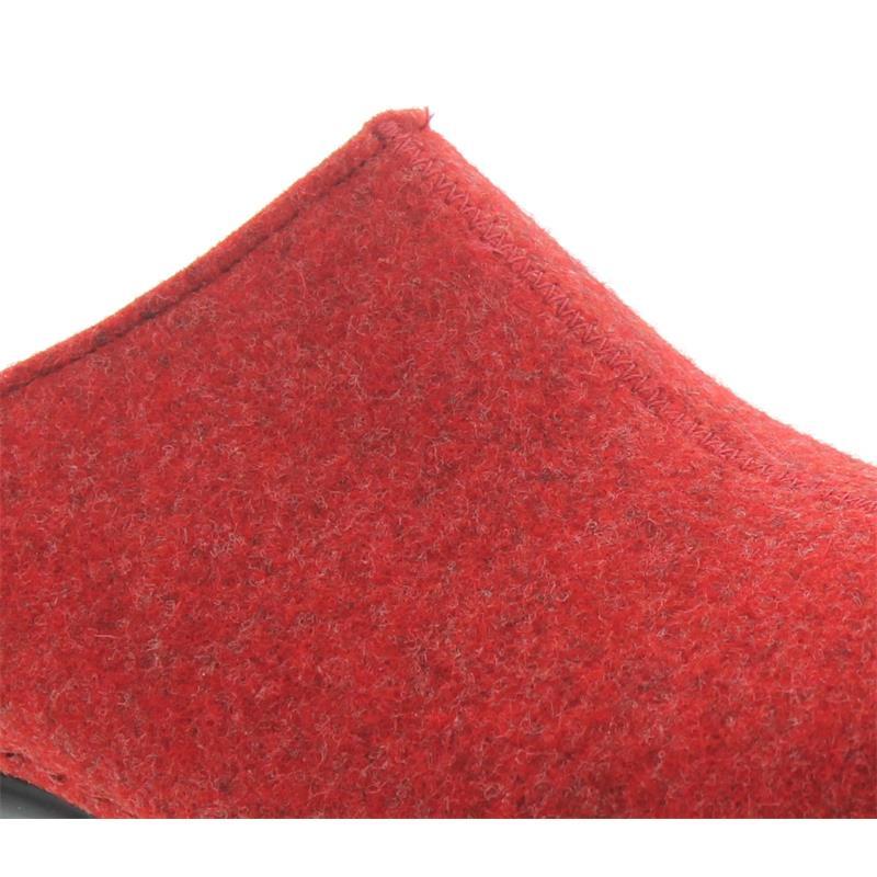 Berkemann Florina Hausschuh Rot Filz | Schuh Vormbrock
