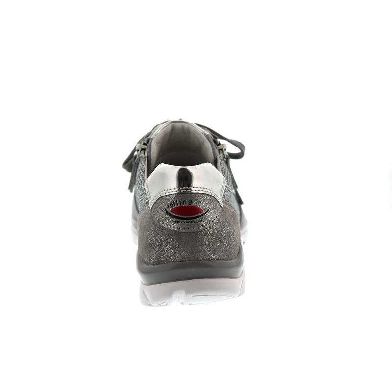 Gabor - Comfort Rollingsoft, Glamour HT/Samt k., altsilber/donkey 66.968.15