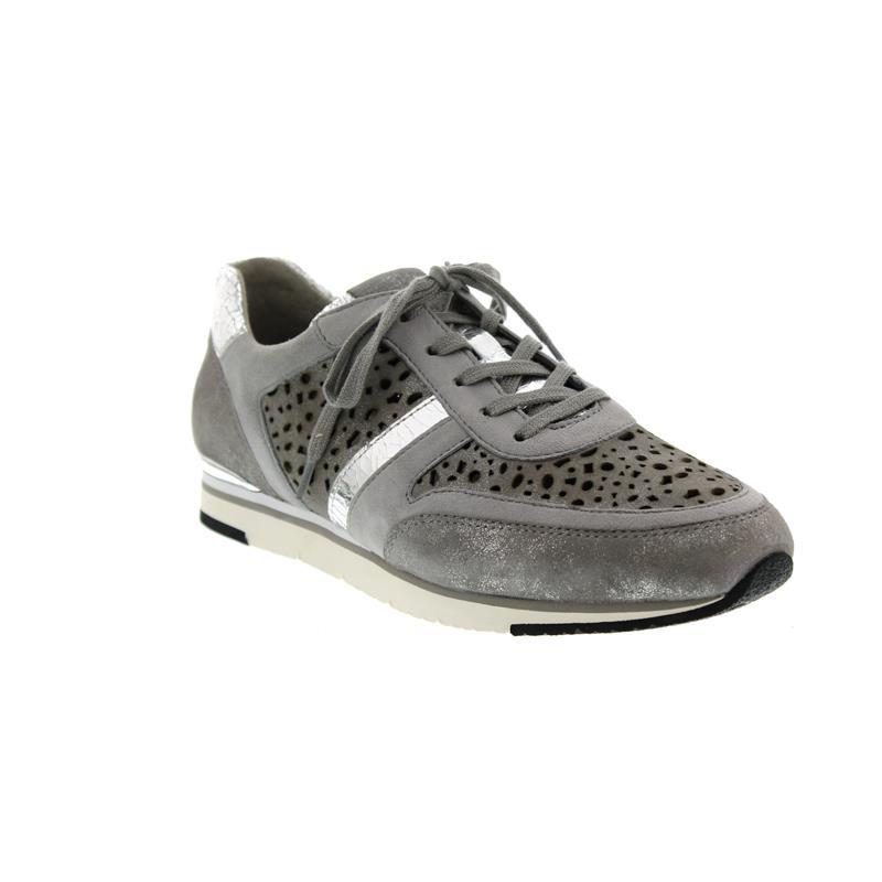 Gabor Sneaker 64.324.69 Grau Nubukleder
