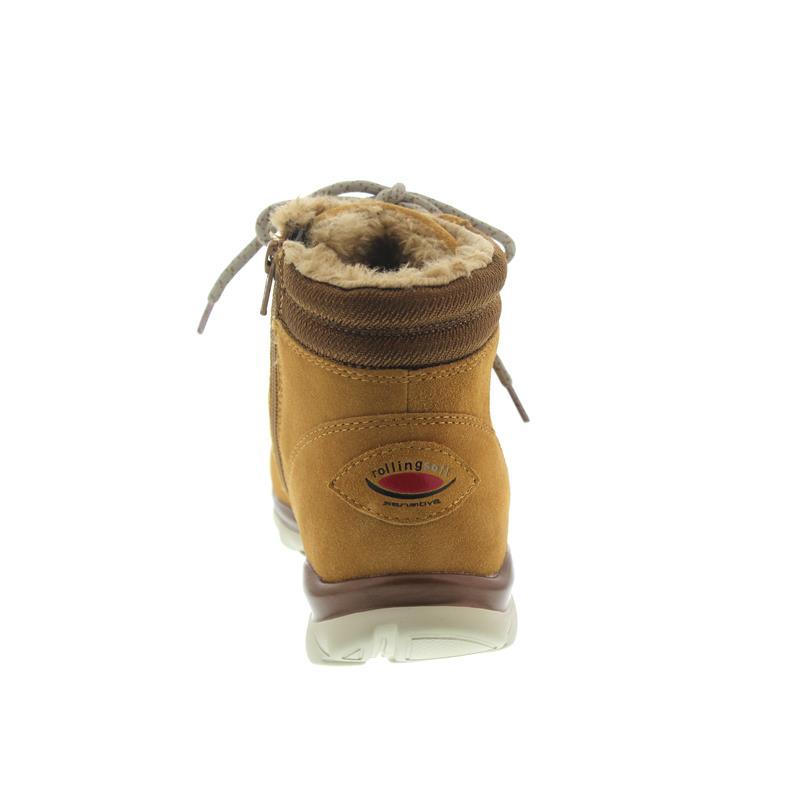 Gabor Rollingsoft, Dreamvelour, beige (Weblamm), Wechselfußbett 76.955.42