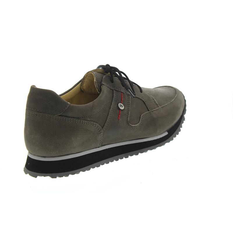 Comfort Sneakers e-Walk - 20201 Dunkelgrau Stretch Leder - 42 Wolky 6iGrd