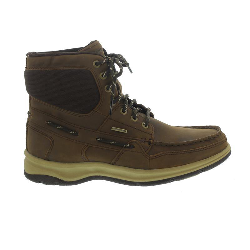 Sebago Brice Mid Boot, Waterproof, Brown Leather, Drysides B850167 Men