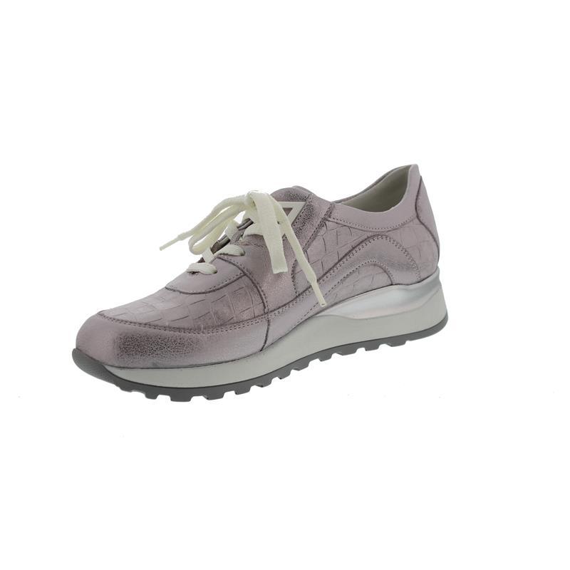 Hiroko, Sneaker, Bufa Marley (metallis. Leder), Rosé, Weite H 364026-200-202, Größe 37 Waldläufer