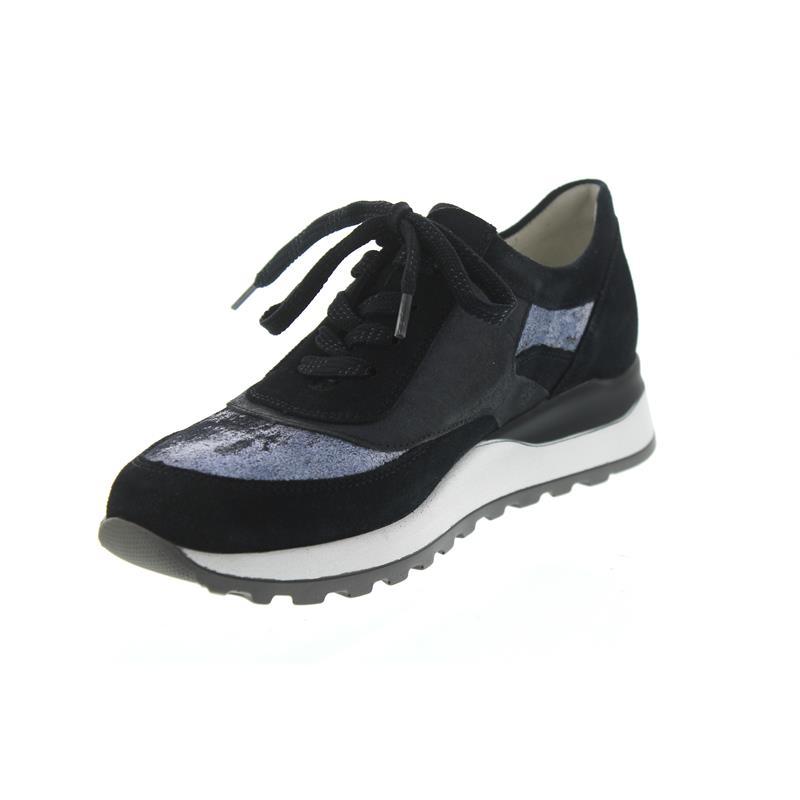 waldl ufer hiroko sneaker blau weite h schuh vormbrock. Black Bedroom Furniture Sets. Home Design Ideas