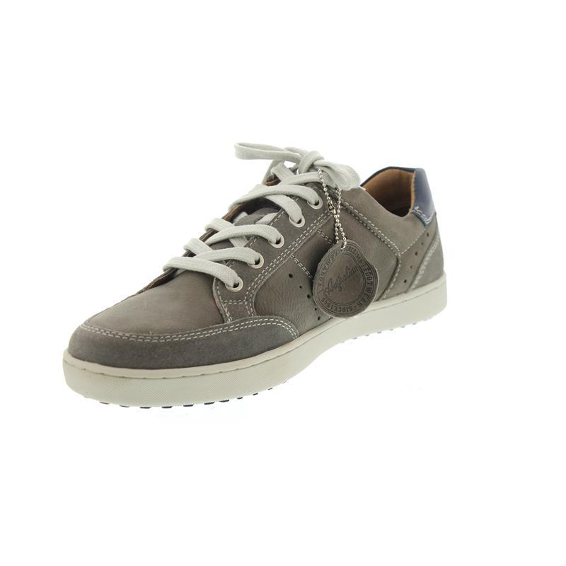 Footwear Sneaker, Vancouver Leather (Nubuk-/Glattleder), Grey, Wechselfußb, 15.1124.05, Größe 47 Australian Footware