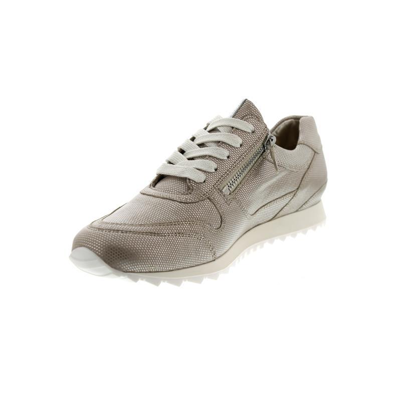 Hassia Barcelona, Sneaker, Metal-Leder, sahara, Weite H, Vario-Fussbett 301918-1600