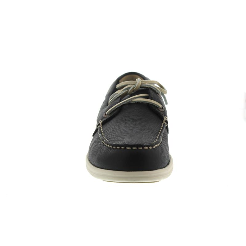Sebago Litesides Two Eye, Full Grain Leather, Dark Grey 7000070-917 Man