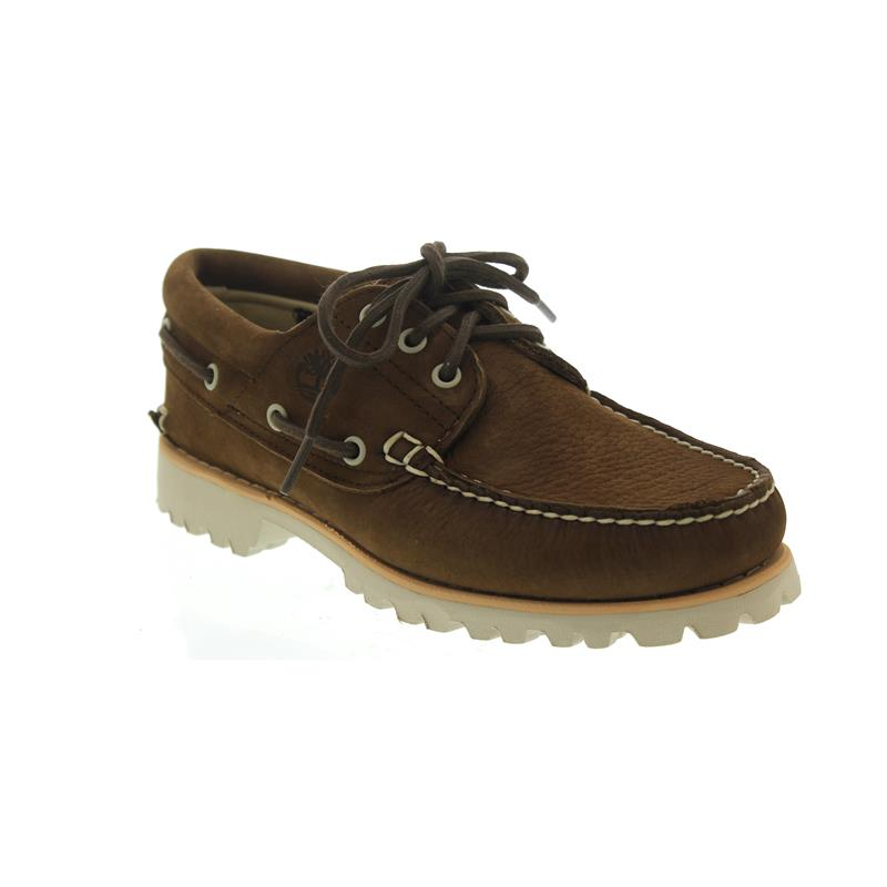 0d411ef7 Timberland Chilmark 3 Eye, Handsewn, Med Brown, Extralight-Laufsohle A1QVW  ...