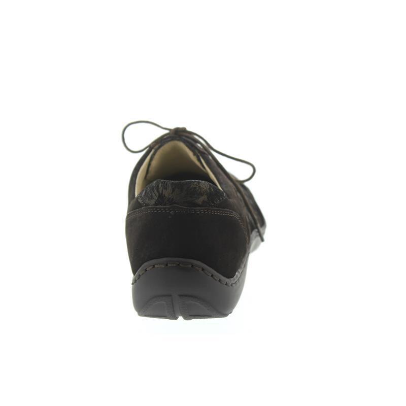 Waldläufer Henni, Pro-Aktiv-Fußbett, Nubukled. kombi., nuba / moro, Weite H 496023-332-355