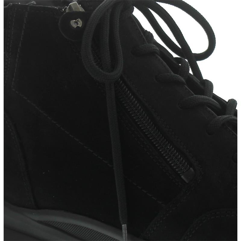 Waldläufer Haruka, Dynamic-Sohle, Denver (Nubuk), schwarz, Weite H 345802-191-001