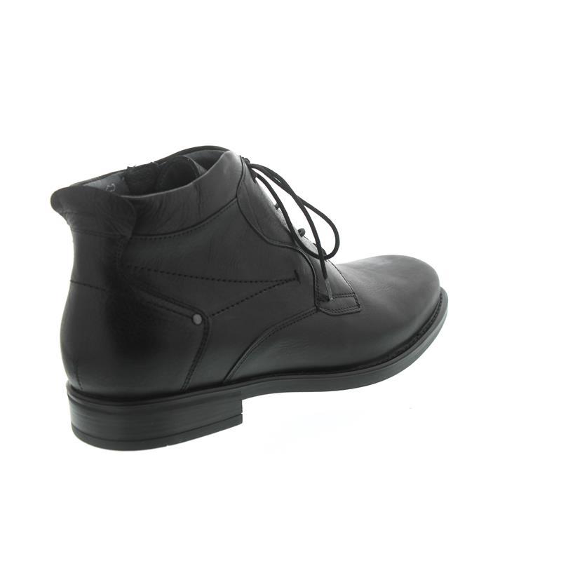 Waldläufer Henry, Bootie, Schnürung und Reißverschluss, schwarz, Weite H 319802-113-001