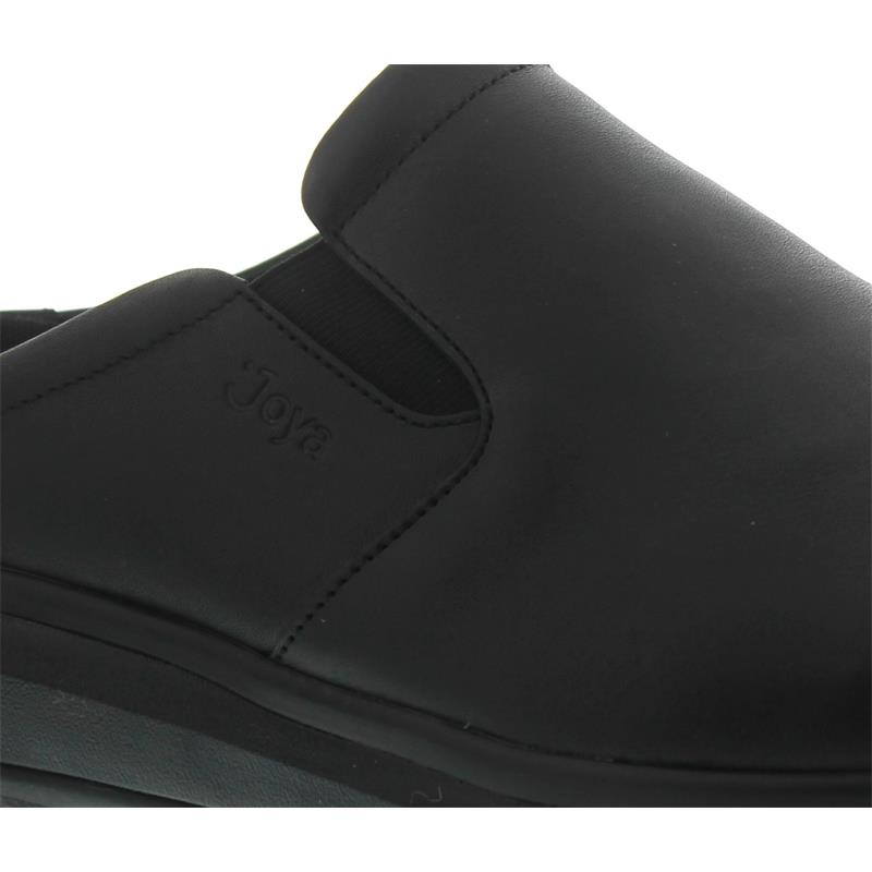 Joya Cabrio II M Black, Full-Grain Leather / Textile, Senso-Sohle, Clog 135cas