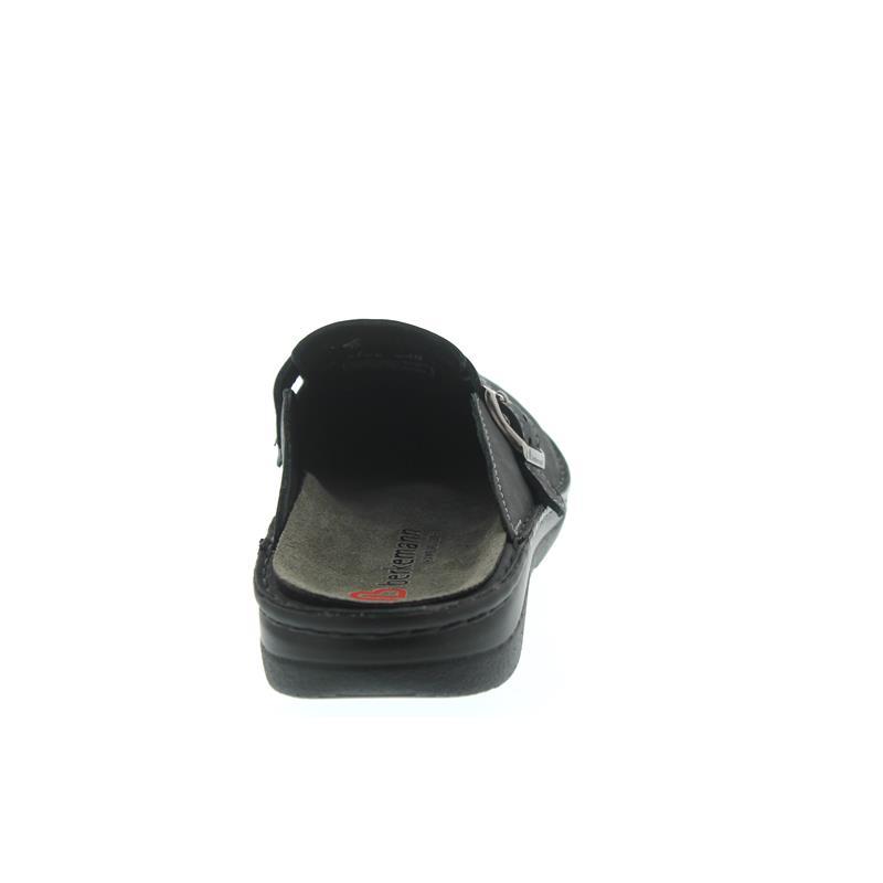 Berkemann Max, Nubukleder, Wechselfußbett, dunkelgrau, Weite G 5708-648