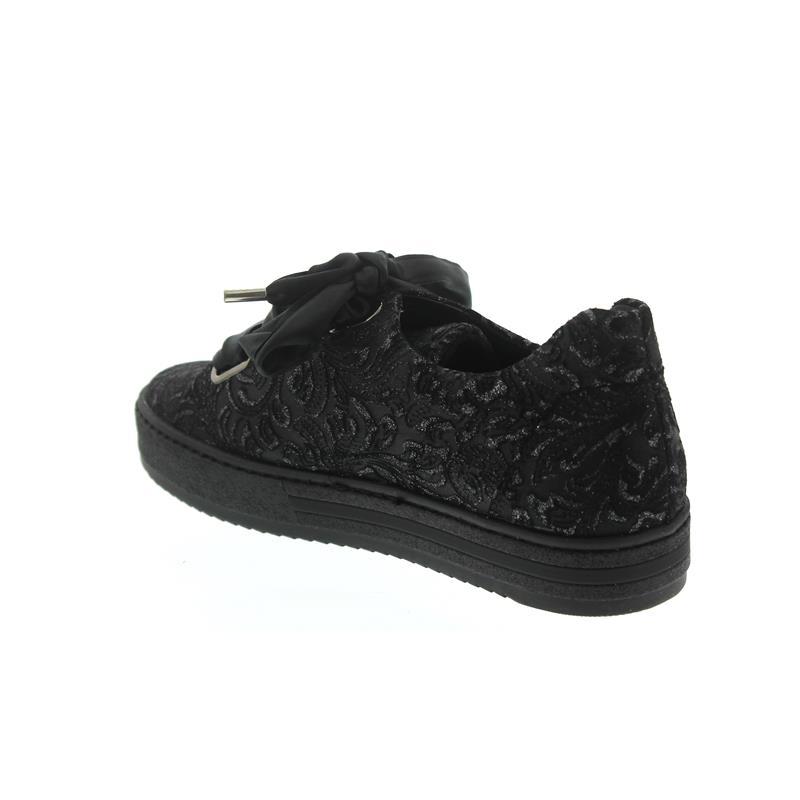 Gabor Sneaker Florenz, Charro (Micro), schwarz, Weite G, Wechselfußbett 96.505.87