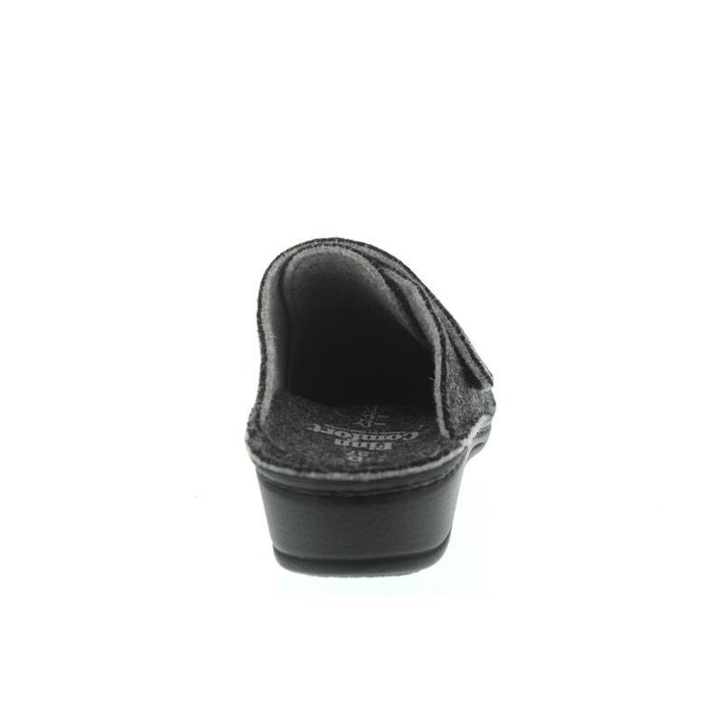 Finn Comfort Andermatt, Doublefilz, Anthrazit, Klettverschluss 6550-482168