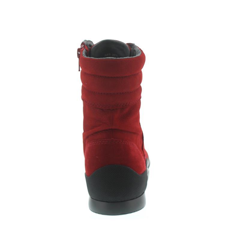 Wolky Adams, Longbeach nubuck, Dark-red, Schnürung u. Reißver. 0277513-505