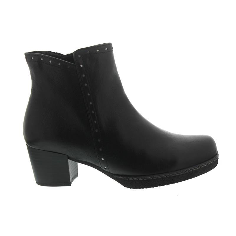 sneakers for cheap f5167 7e1a6 Gabor - Comfort Athen, Bootie, New Jersey, schwarz (Micro), Wechselfußbett,  Weite G 96.662.27